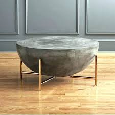 round cement table round concrete top table living room wonderful cement side table concrete coffee table