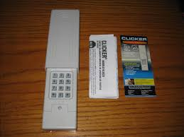 reprogram overhead door keypad reset codedodger keyless