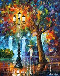 leonid afremov oil on canvas palette knife original paintings art