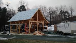 the barn is dried in on day 3 way to go crew