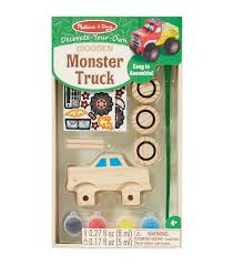 Melissa And Doug Decorate Your Own Jewelry Box Melissa Doug DecorateYourOwn Wooden KitMonster Truck JOANN 44