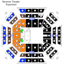 Call Center Seating Chart Seating Charts Extramile Arena Official Site