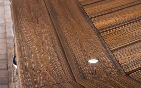 deck lighting ideas. close up deck lighting spiced recessed ideas