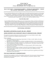 Environmental Resume Template Resume Pro Environmental Resume ...
