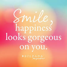 Quotes About Happiness And Smiling New Smile Happiness Looks Gorgeous On You
