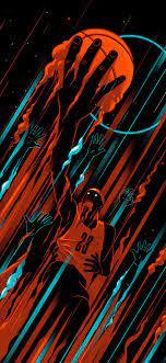 Basketball iPhone X Black Wallpaper ...