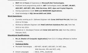 Sample Server Resume Incredible 29 Elegant Sample Professional