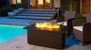 outdoor fire table. Plateau® PTO30CFT Outdoor Gas Firetable Fire Table