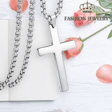gold chain cross necklace men women cross jewelry silver cross 60cm product no 1956804 item specifics brand