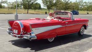 Test Driving 1957 Chevrolet Bel Air Convertible 283 V8 4 BBL - YouTube