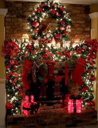 1000 Ideas About Christmas Fireplace Decorations On Pinterest Fireplace  Christmas Decoration