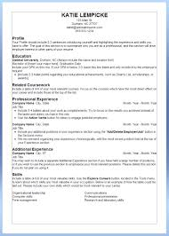 Free Resume Templates The Best Resumes Objective Statement