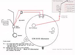 wiring gm alternator diagram wiring wiring diagrams online chevy alternator wiring diagram