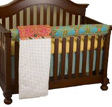 Cotton Tale Designs Cotton Tale Designs Front Crib Rail Cover Up Set Gypsy