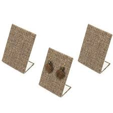 Earring Stands And Displays Stunning Amazon Burlap Earring Stands Jewelry Displays 32 Inches Tall