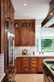 how to stain wood kitchen cabinets stunning farmhouse kitchens that will make you want wood cabinets