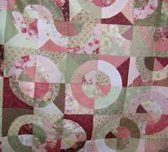 Circle Quilt Patterns Enchanting Quilting Pattern For Circles