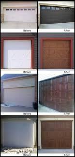 painted wood garage door. Perfect Door Faux Wood Painting On Garage Doorrs For Painted Wood Garage Door