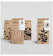 Quality coffee packaging should protect the beans contained within for at least 12 months (even though coffee should preferably be consumed long before that). Coffee Packaging Design Graphics Product Packaging Ideas Kraft Paper Coffee Packaging Tag Desi Tea Packaging Design Coffee Packaging Food Packaging Design