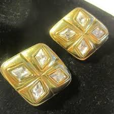 chanel earrings price. authentic chanel earrings price a