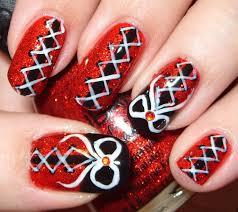 50 Most Stylish Corset Nail Art Designs