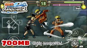 Naruto Ultimate Ninja Heroes 2 highly compressed 700MB - TechKnow Infinity