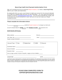 Card Authorization Form - April.onthemarch.co