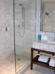 Open Shower Bathroom Design Cool Doorless Zyinga