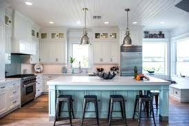 modern white kitchen island. White Kitchens With Islands Kitchen Aqua Island And Tongue Groove Ceiling Boards Wall Modern