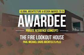 Paul Michael Davis Design The Fire Lookout House Paul Michael Davis Architects Pllc