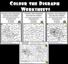 250 free phonics worksheets covering all 44 sounds, reading, spelling, sight words and sentences! Colour By Digraphs Worksheets Making English Fun