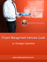 project management interview guide ebook intense school