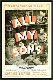 show notes all my sons weston playhouse blog weston playhouse all my sons poster