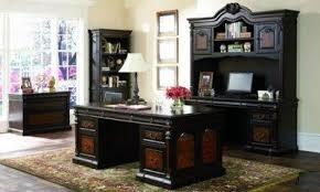 huge office desk. Two-Toned Brown Massive Classic Office Desk W/Carving Details Huge G