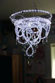 bedroom led rope lighting ideas new rope light chandelier rope image concept
