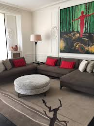 Informal Living Room Bd Flandrin Paris Texture