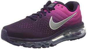 purple nike running shoes for girls. nike air max 2017 (gs) running trainers 851623 sneakers shoes (4 big kid purple for girls