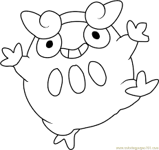 pokemon coloring pages darumaka