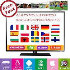 IPTV สมัครสมาชิก 4K HD/สเปน/โปรตุเกส/UK/US/ฝรั่งเศส/เนเธอร์แลนด์/กีฬา/  ผู้ใหญ่/Android/IOS/MAG/M3U/VLC 10000 + ช่องสด/VOD|Set-top Boxes