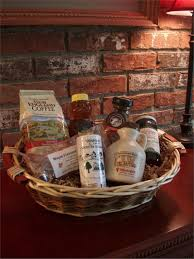 vt gift basket vermont sugar and e maple syrup taste of vt