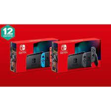 Máy chơi game Nintendo Switch V2 Neon/Grey chính hãng fullbox mới 100% - BH  12 tháng