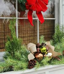Christmas Window Box Decorations Christmas Window Box Idea Jennifer Decorates 44