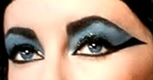 elizabeth taylor s eyes in the film cleopatra although heavily made up to look exotic kohl is not applied along the waterline