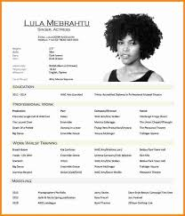Gallery Of Theatre Resume Template Luxury 25 Unique Acting Resume Template  Ideas On Pinterest