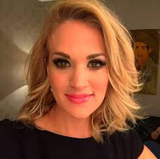 carrie underwood shared her new hairstyle with fans on insram photo insram carrieunderwood