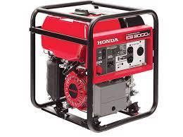 Honda Eb3000c Portable 3000w 120v Gfci Generator W Oil Alert Honda Generators For Sale Gfci Industrial Generators