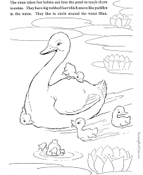 Small Picture Swan coloring page to print and color Pictures to Color