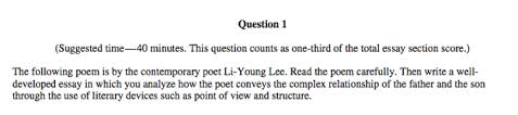 expert s guide to the ap literature exam 9poem essay png