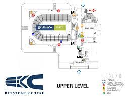 Keystone Centre Brandon Seating Chart Keystone Centre Map Keystone Centre