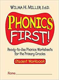 Get all these free phonics worksheets to help students become more comfortable with reading. Amazon Com Phonics First Ready To Use Phonics Worksheets For The Primary Grades Student Workbook 9780130414625 Miller Wilma H Books